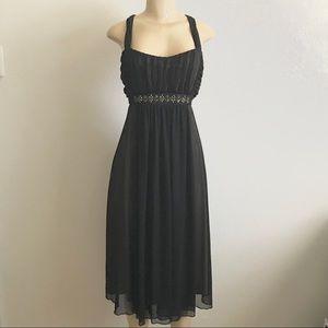 Black & Tan Formal Party Dress Size 16